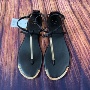 Women's Ankle Strap Thong Sandals